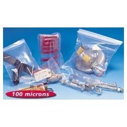 Sachet plastique PEBD - 100 microns