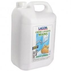 Savon, crème lavante 5 L.