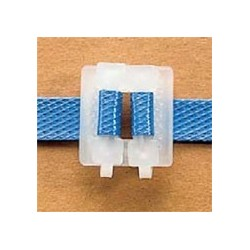 Boucles plastique autoblocante