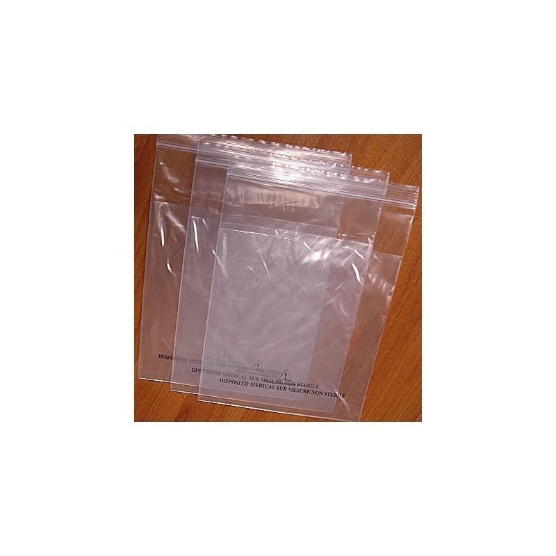 Sachet KANGOUROU, sachet plastique ZIP double poche