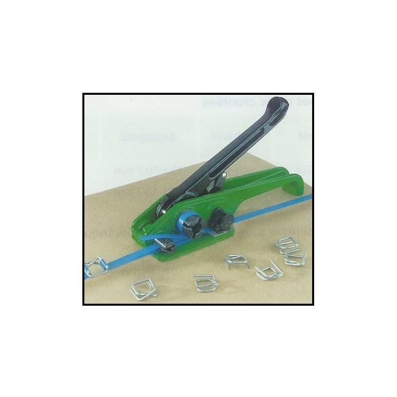 Outil de cerclage - tendeur - plastique / textile