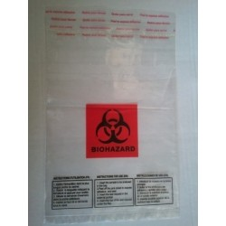 Sachet inviolable BIOHAZARD