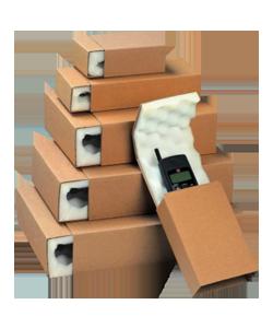 Boîtes, caisses et étuis mousse pour la protection