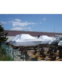 Films rétractables, hivernage et protection bateau